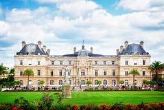 日庭院卢森堡巴黎9月 免版税库存图片