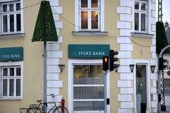 日德兰银行 图库摄影