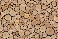 日志堆木 免版税库存图片