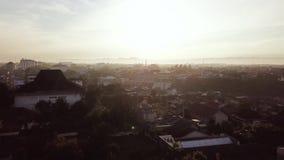 日惹市鸟瞰图  影视素材