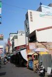 日月潭看法在台湾 库存图片