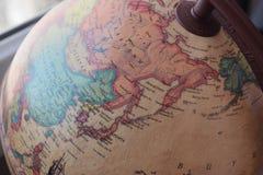 日本世界地图 免版税库存图片