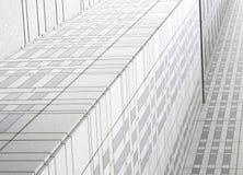 日本东京企业大厦在街市区 免版税库存图片