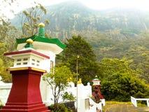 日本人为寺庙在斯里兰卡 图库摄影