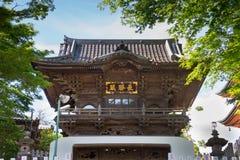 日本人寺庙 免版税库存照片