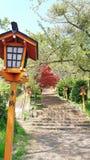 日本人寺庙 免版税图库摄影
