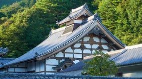 日本人寺庙 免版税库存图片