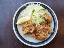 日本人炸鸡, Karaage 免版税图库摄影
