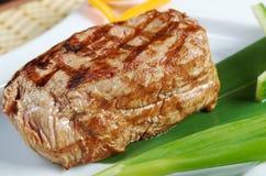 日本人神户烤肋条肉。 免版税库存照片