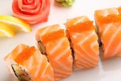 日本人集合寿司 免版税库存照片