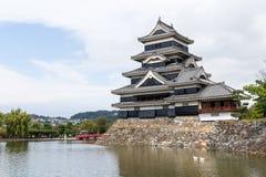 日本人马塔莫罗斯城堡 免版税库存照片