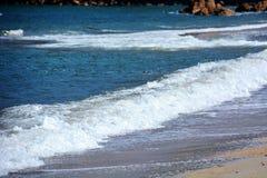 日本人10月海滩/Fukuok Ikinomathubara海滩 库存图片