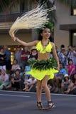日本人Tahitian Hula星 库存照片