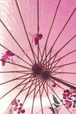 日本伞 免版税图库摄影