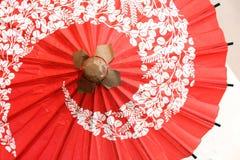 日本传统伞 免版税库存图片