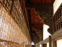 日本传统房子 库存照片