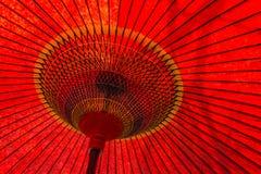 日本传统伞细节 免版税图库摄影