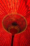 日本传统伞细节 库存照片