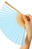 日本传统纸爱好者SENSU  免版税图库摄影