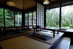 日本传统茶屋 库存照片
