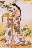 日本传统衣物 免版税库存图片