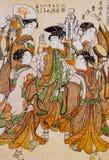 日本传统衣物 库存图片
