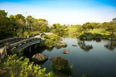 日本公园 免版税库存照片