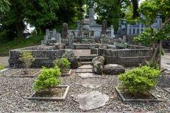 日本公墓在熊本 免版税库存照片