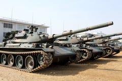 日本军事坦克 免版税库存图片