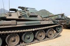 日本军事坦克 免版税库存照片