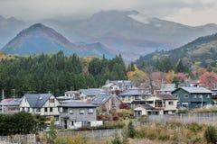 日本农村风景 免版税库存图片
