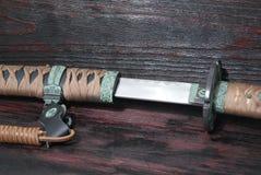 日本刀武士剑 免版税图库摄影