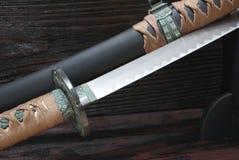 日本刀武士剑 图库摄影