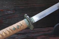 日本刀武士剑 免版税库存照片