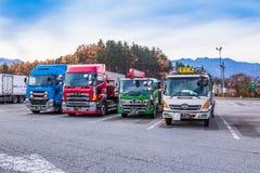 日本卡车 免版税图库摄影