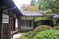 日本古老房子 免版税库存照片