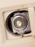 日本国内气体供应的插座 库存照片