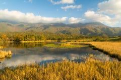日本国家公园Shiretoko, Hakkaido,日本 免版税库存照片