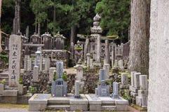 日本坟茔 库存照片