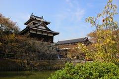 日本城堡塔 库存照片