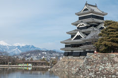 日本城堡 免版税图库摄影