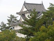 日本城堡 免版税库存照片