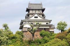 日本城堡 库存照片