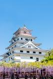 日本城堡 免版税库存图片