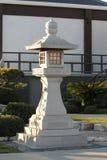 日本塔石头 免版税库存照片