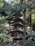 日本塔 图库摄影