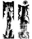 日本墨水绘画瀑布 免版税库存图片