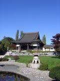 日本大厦和风景 免版税库存照片