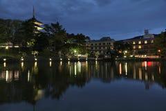 日本奈良 免版税库存图片