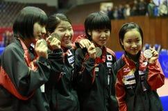 日本女队 免版税库存图片